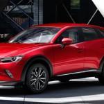 Mazda CX-3 foi lançado na Europa