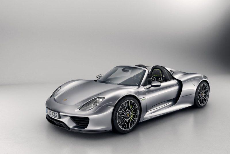 Porsche 918 Spyder teve sua produção encerrada
