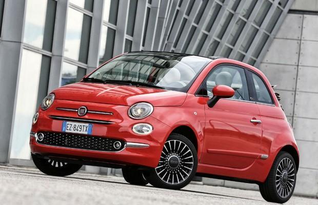 Fiat 500 reestilizado recebeu poucas alterações no design