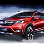 Honda BR-V é um novo SUV capaz de transportar até 7 pessoas