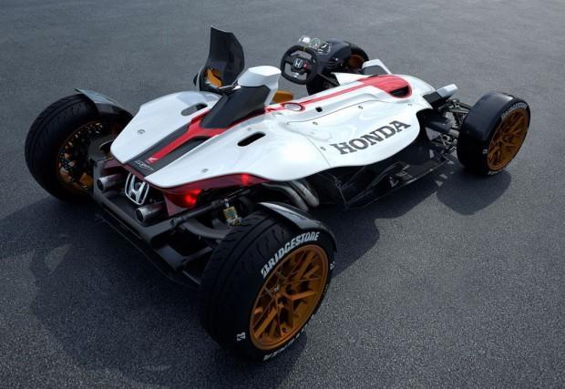 Honda 2&4 concept – Novo modelo une carro e moto