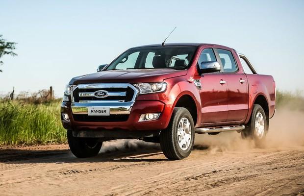 Nova Ford Ranger 2017 ganha Novo Visual e Mais Itens de Série