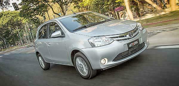 Novo Toyota Etios 2017 chega com Poucas Mudanças
