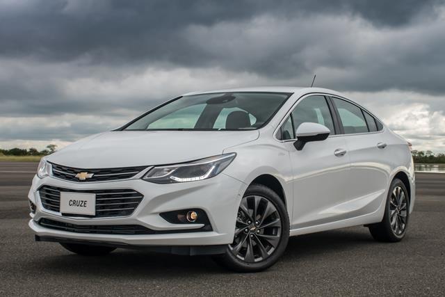 Novo Chevrolet Cruze 2017 com Motor Turbo