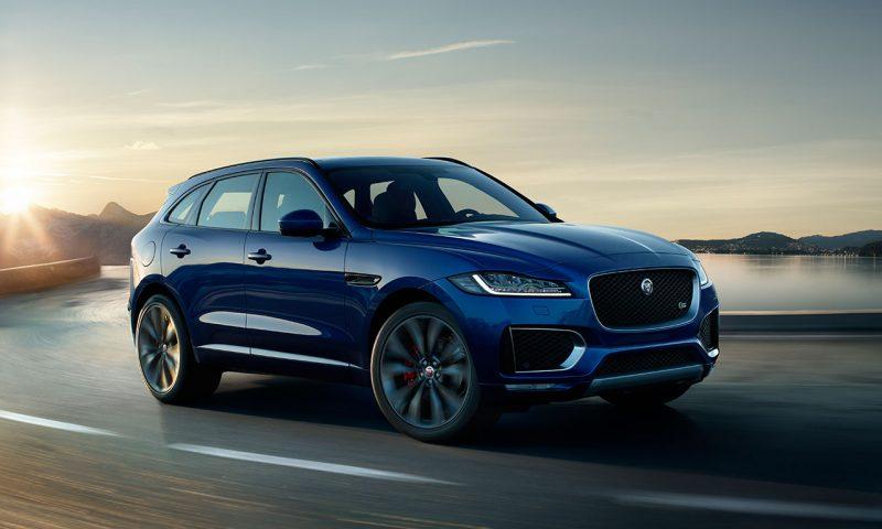 Lançamento do Jaguar F-Pace no Brasil