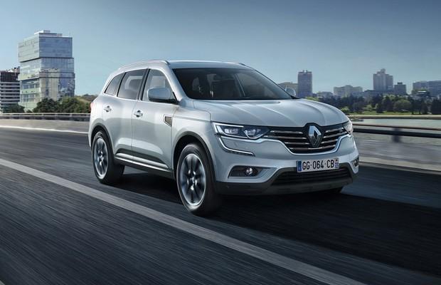 Renault Koleos será apresentado no Salão de SP 2016