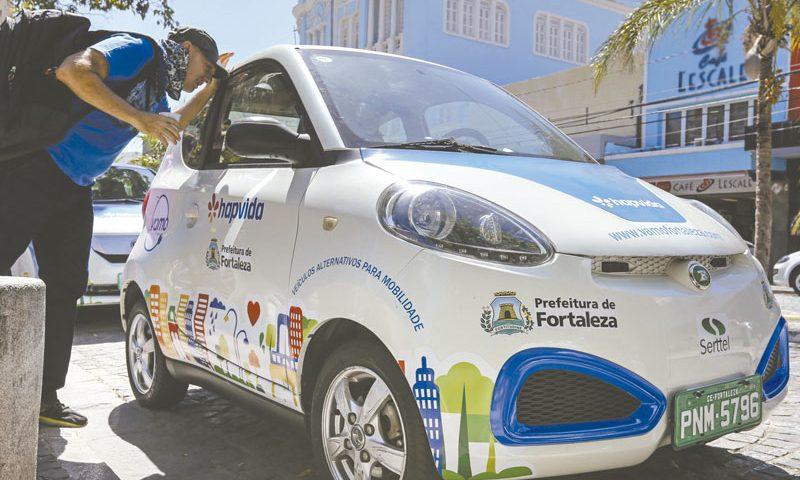 ZhIdou EEC L7 e-80 está sendo exposto em Fortaleza (CE)